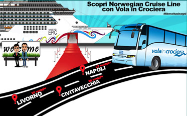 Crociere: al via il Seashow Norwegian Epic. In regalo una visita nave