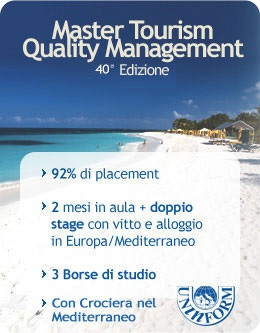 Master TQM Tourism Quality Management e placement occupazionale